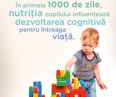 Nutritia copilului 1-3 ani: mic ghid de reguli si sfaturi pentru parinti