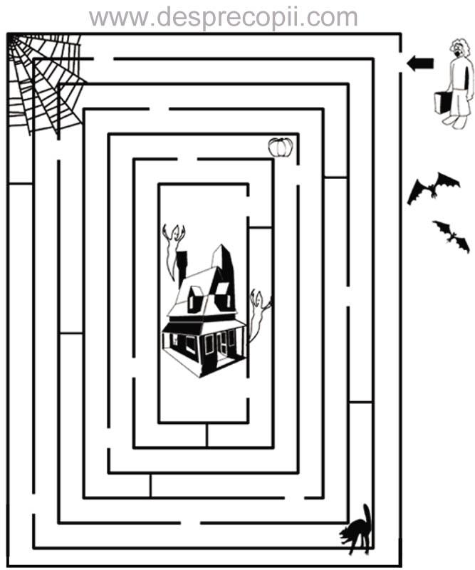 Labirint de Halloween