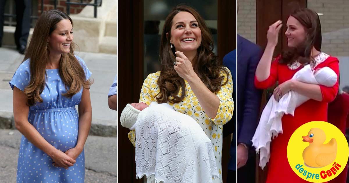 Kate, ducesa de Cambridge: 3 nasteri naturale la activ si in cea mai buna forma. Iata care este secretul ei