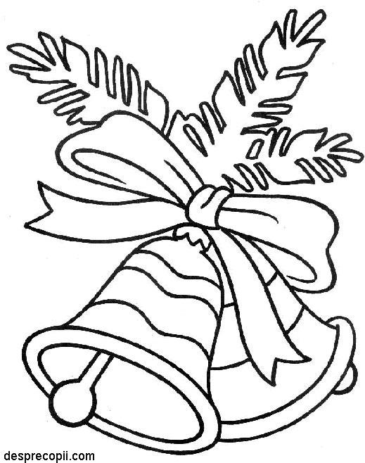 Clopotei - plansa colorat