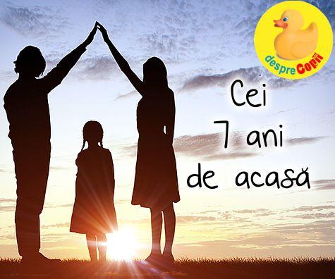 Cei 7 ani de acasa: norme si valori esentiale pentru succesul viitorului copilului