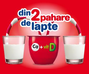 Din 2 pahare de lapte