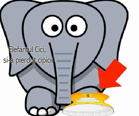 Elefantul Cici - Versuri si video