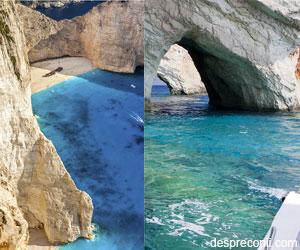20 de plaje in Zakynthos care te astepta