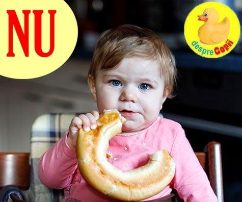 11 NU-uri in diversificarea si alimentatia bebelusului
