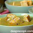 Supa crema de cartofi si broccoli