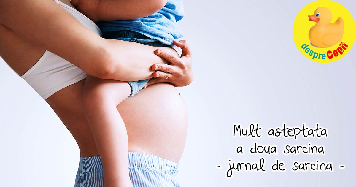 O calatorie minunata spre a doua sarcina - jurnal de sarcina