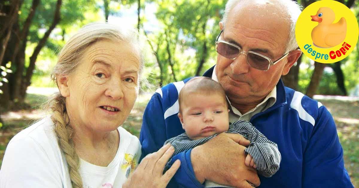 In sfarsit mamica la 60 de ani dar parasita de sot in ziua nasterii copilului