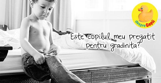 Lista de abilitati necesare copilului pentru inceperea gradinitei