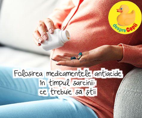 Medicamentele antiacide in timpul sarcinii: tipuri si efecte - ce trebuie sa stii