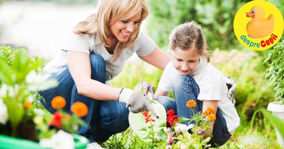 15 activitati Montessori de primavara pentru copii