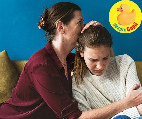 Cum ar trebui sa vorbeasca un parinte ingrijorat unui adolescent anxios