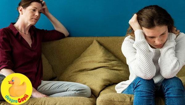 Certurile cu copilul adolescent - cum ajungem acolo si 3 sfaturi pentru a le calma
