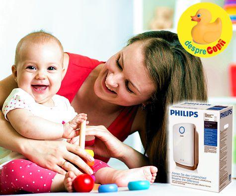 Combaterea poluarii din casa: o prioritate pentru sanatatea bebelusului