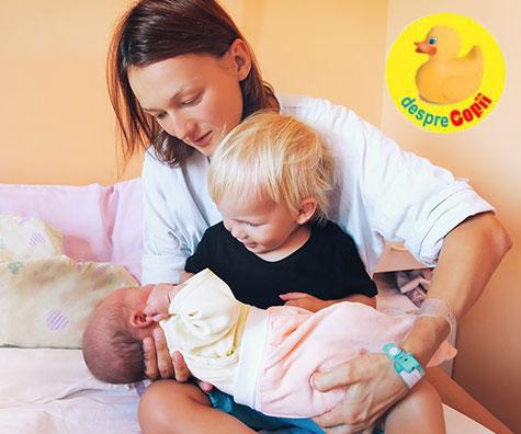 Cum s-a schimbat legatura mea cu primul copil atunci cand a venit al doilea