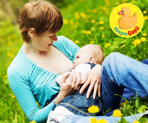 5 moduri in care alaptarea promoveaza legatura speciala dintre mama si bebelus