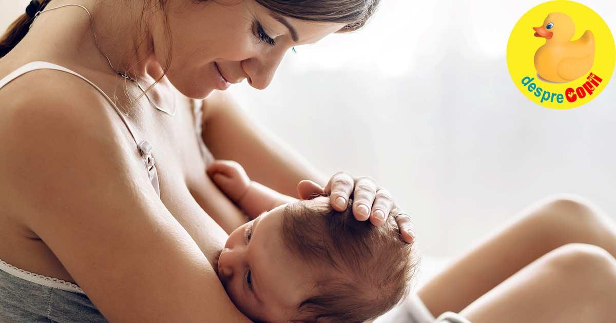 Alaptarea bebelusului este mai mai mult decat hranirea sa. 5 moduri prin care alaptarea promoveaza legatura speciala dintre mama si bebelus