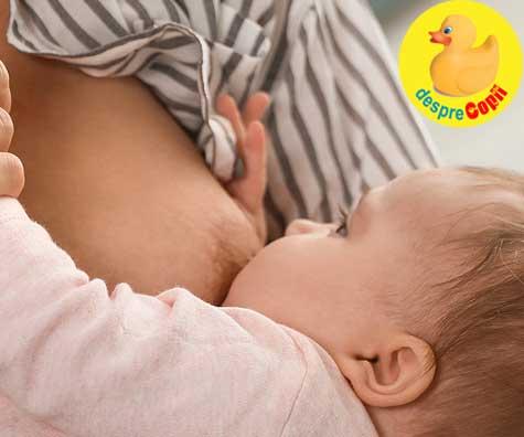 11 semne ca alaptarea bebelusului nu merge bine. Cu realism…