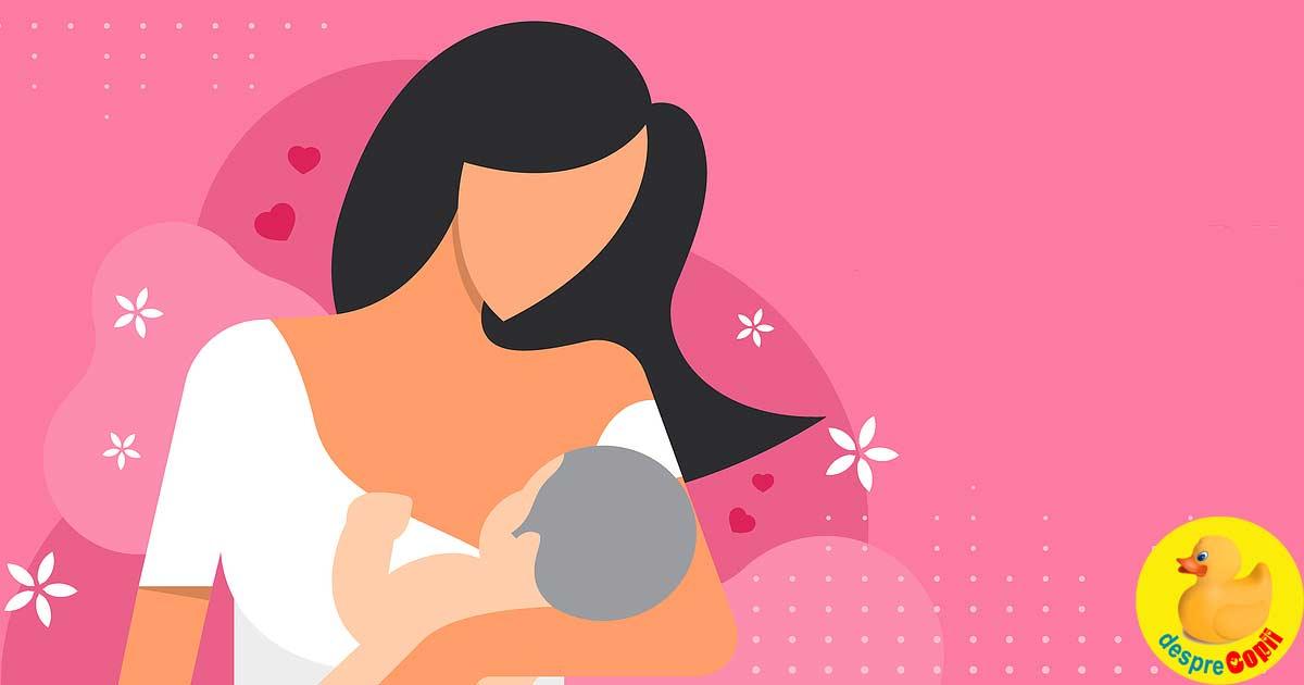 15 lucruri uimitoare despre alaptarea bebelusului cu aurul alb