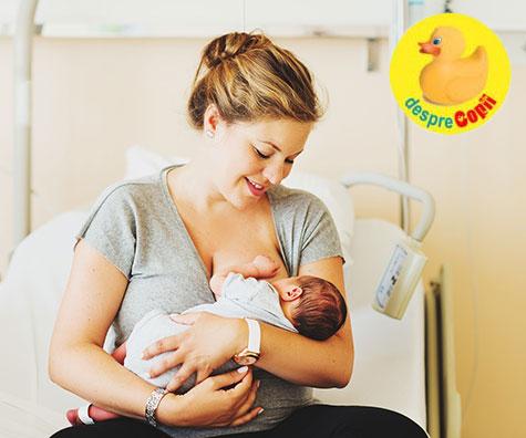 Ce inseamna o maternitate Baby Friendly: 10 pasi pentru o alaptare de succes