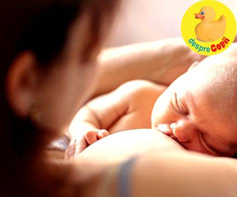 Alaptarea bebelusului dupa cezariana - sfatul specialistei in alaptare