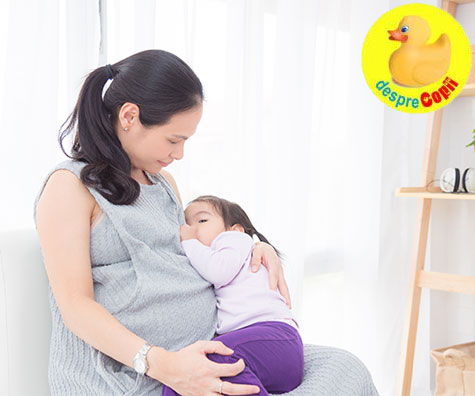 Alaptarea in timpul sarcinii: intrebari si raspunsuri