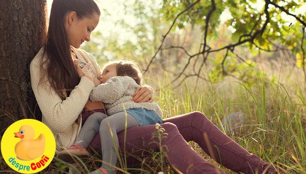 Alaptarea prelungita a bebelusului: beneficii pentru copil si mama