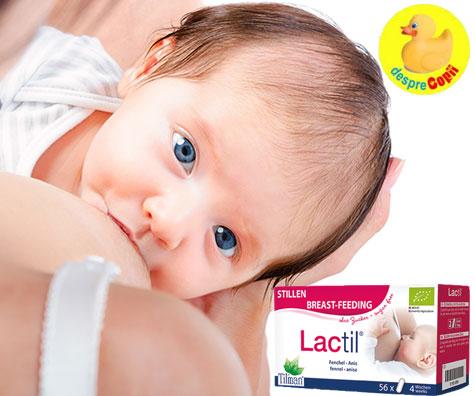 Stimularea lactatiei cu ajutorul naturii