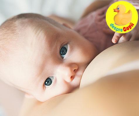 Alaptarea bebelusului in primele saptamani: 4 lucruri pe care vei fi bucuroasa ca le-ai stiut