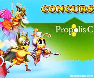Concursul albinutelor care ne fac sanatosi cu Propolis C (concurs)
