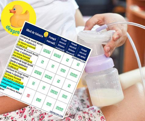 Pompa de san ideala: diagrama de alegere a pompei de san