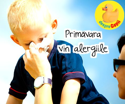 Primavara vin alergiile
