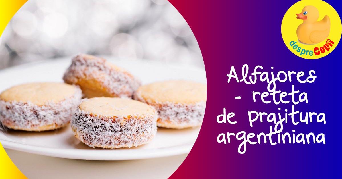Alfajores - prajitura argentiniana preferata a reginei Maxima a Olandei. Iata reteta si cum o pregateste chiar ea
