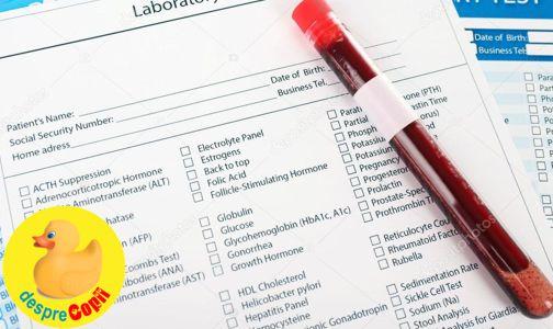 Testul alfafetoproteinic – AFP