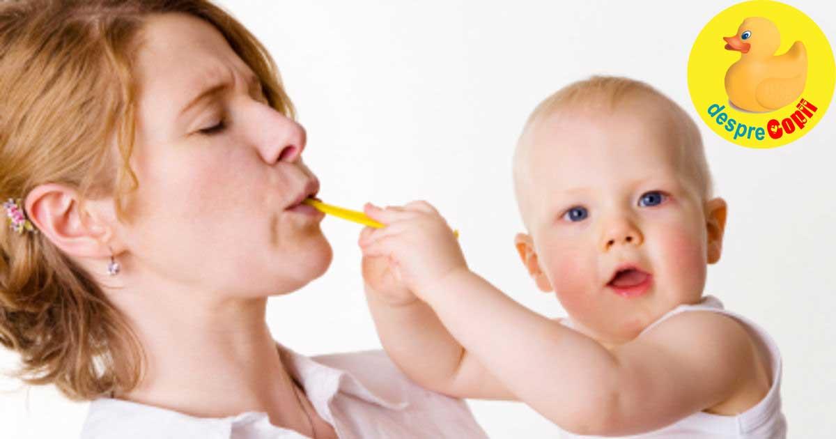 Alimentatia mamicilor care alapteaza - iata cum poate influenta laptele matern