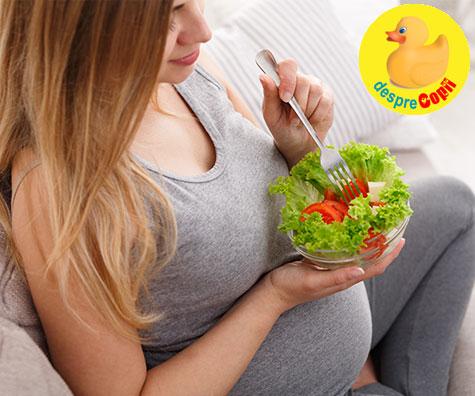 Cele mai bune alimente pentru gravidute