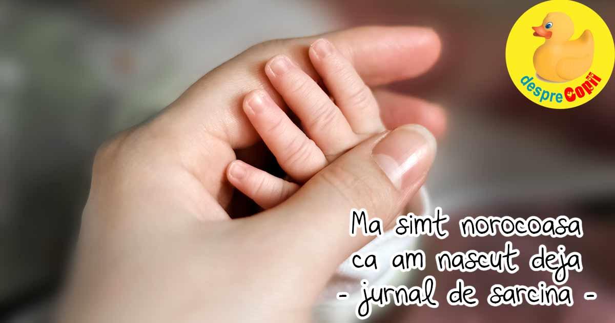 Am nascut la Suceava si sunt norocoasa ca am scapat cu bine - jurnal de sarcina
