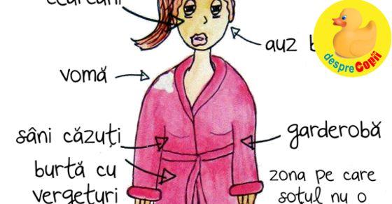 Anatomia unei proaspete mamici
