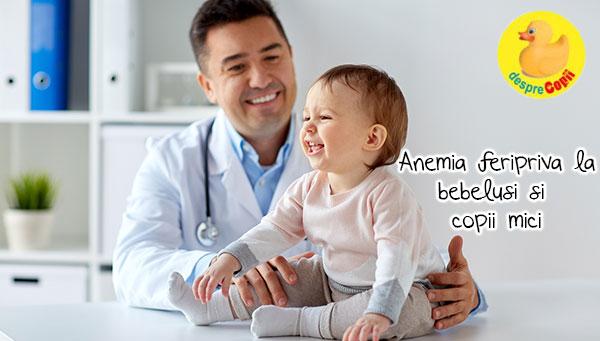 Anemia la bebelusi: simptome si tratament