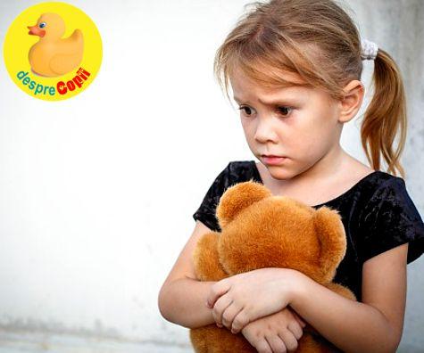Anxietatea la copil