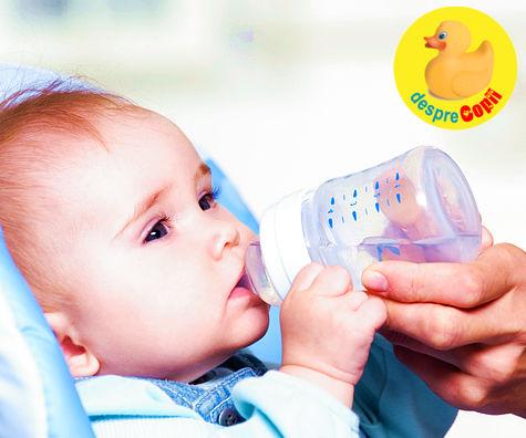 Ce apa dam bebelusului? Intrebari si raspunsuri pentru sanatatea bebelusului
