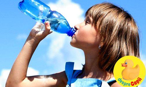Despre apa de la sticla, ce contine ea si cum ne influenteaza sanatatea