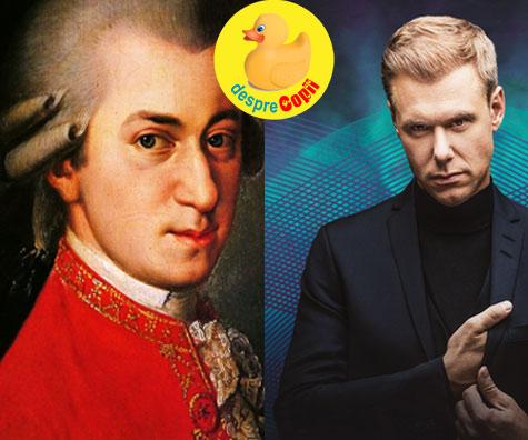 Armin van Buuren sau Mozart la ora de muzica?