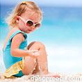 Arsurile solare la copiii mici