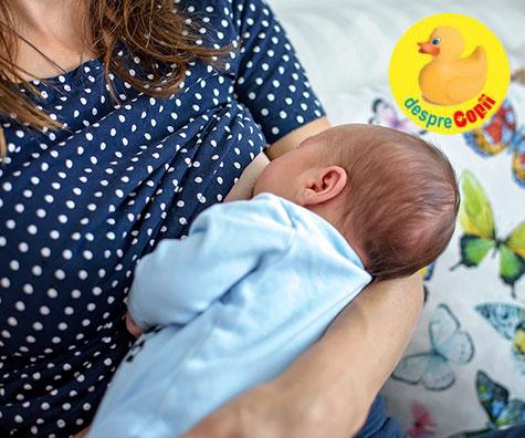 De ce este esentiala atasarea corecta a bebelusului la san