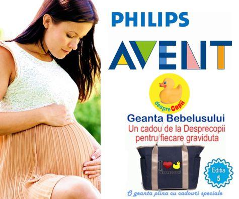 Philips Avent sustine gravidutele la Geanta Bebelusului 5