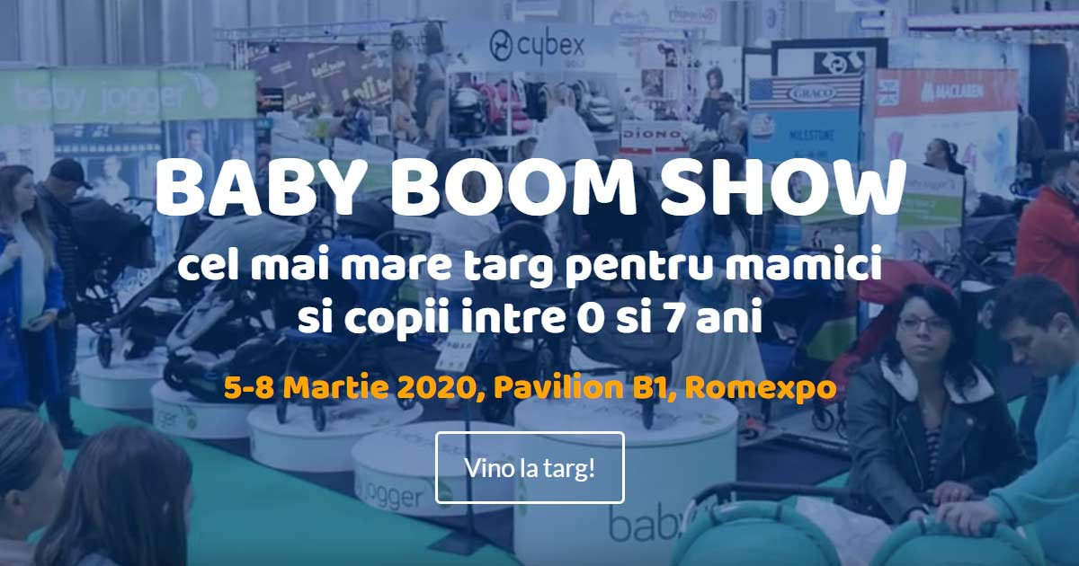Se deschide Baby Boom Show - editia de PRIMAVARA 2020
