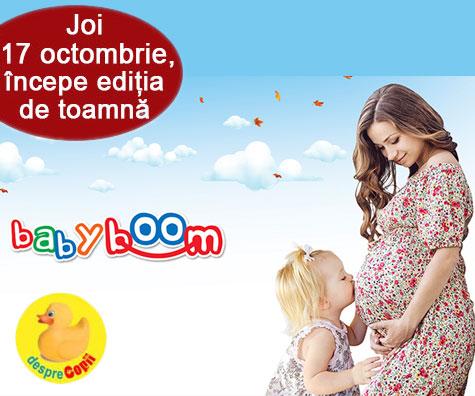 Se deschide Baby Boom Show - editia de toamna!