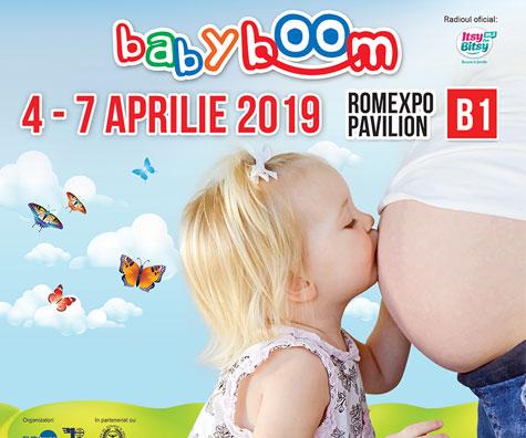 Pe 4 Aprilie  se deschide Baby Boom Show la Romexpo!