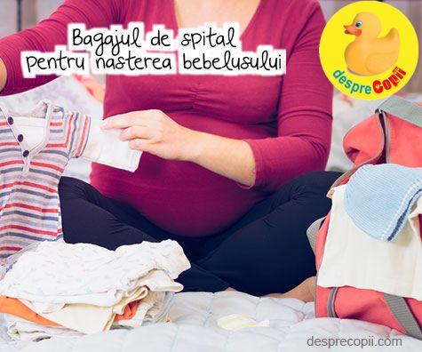Nasterea bebelusului: Bagajul pentru spital
